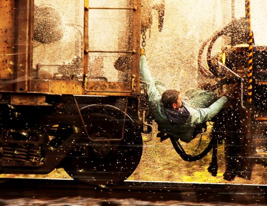 Unstoppable (2010), una película de trenes dirigida por Tony Scott (RIP) con Denzel Washington y Chris Pine, que disfruto bastante